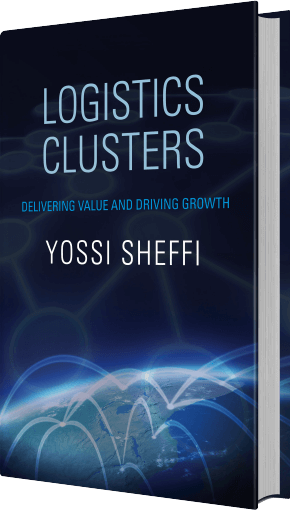 Logistical Clusters tilted book cover