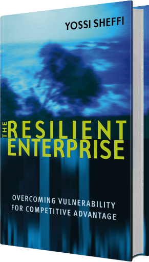The Resilient Enterprise tilted book cover