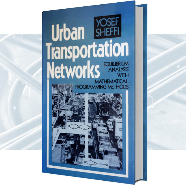 Urban Transportation Networks with background image