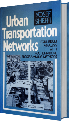Urban Transportation Networks tilted book cover