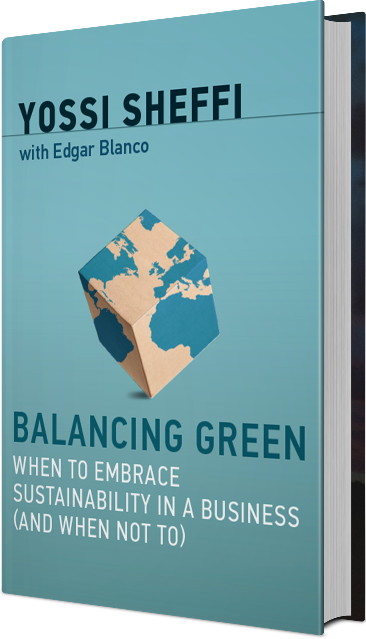 Balancing Green Tilted Cover