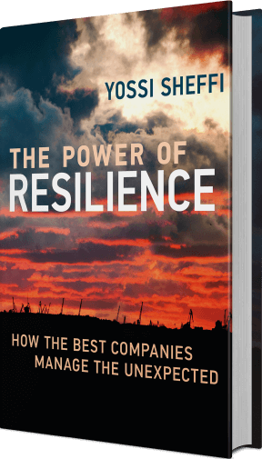 Power of Resilience tilted book cover